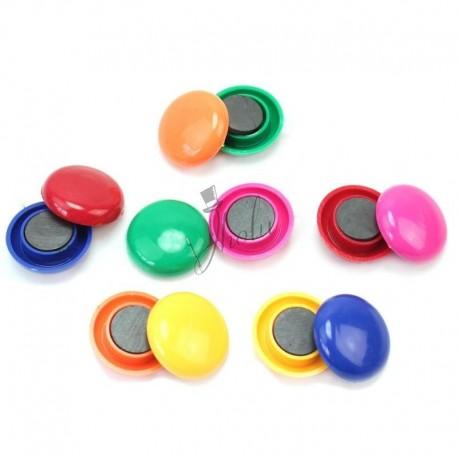 Botones Magnéticos de Color Surtido Set de 12
