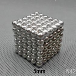 Rompecabeza Magnético NeoCube con Esferas de 5mm Grado N42