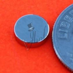 "Imán de Neodimio Disco 1/4"" x 1/16"" (6mm x 1.5mm aprox) Grado N42"