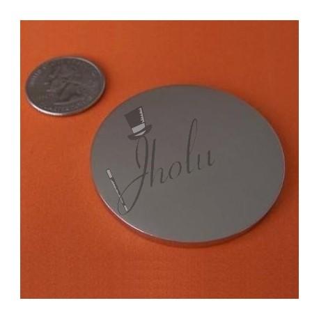 "Imán de Neodimio Disco 2"" x 1/8"" (50mm x 3mm aprox) Grado N45"