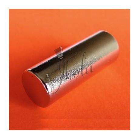"Imán de Neodimio Cilindrico 1/4"" x 3/4"" (6mm x 19mm aprox) Grado N48"