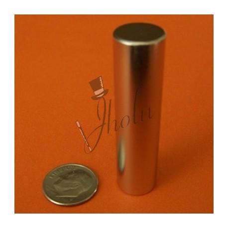 "Imán de Neodimio Cilindrico 1/2"" x 2"" (12mm x 50mm aprox) Grado N42"