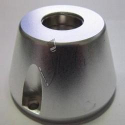 Imán de Neodimio Cono 50mm x 73mm x 36mm 12000 Gs Plateado Modelo Super